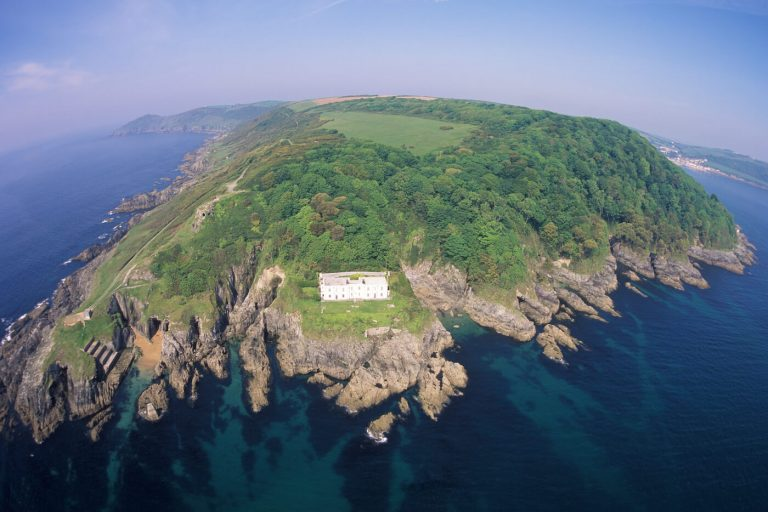 aerial photography of Penlee Point